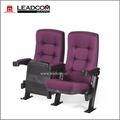 Leadcom tapizados de cuero lounger vuelta silla de cine para la venta( ls- 11602)