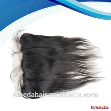 2013 new fashion Qingdao brazilian lace frontal closure 13x4