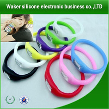factory price custom silicone bracelet watches ion