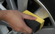 quality foam wax applicator for car tire dressing