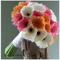 sj 2014 af021 venta al por mayor de alta calidad artificial gerbera daisy madre de seda artificial flor artificial flor de la margarita del ramo