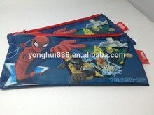 Spider man plastic pencil case