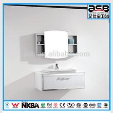 Stainless Steel European smart design bathroom vanity