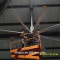 24ft grande poupança de energia industrial ventilador de teto