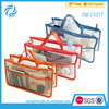 Travel Transparent PVC Cosmetic Bag With Handle