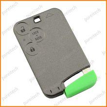 orignal cards blanks renault laguna 3 key shell replacements no logo car remote key