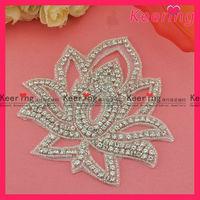 Diamond bridal applique dress motifs WRA-398