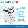 caliente coolipo v9 cavitación rf liposucción criolipólisis potentes equipos de la belleza para adelgazar