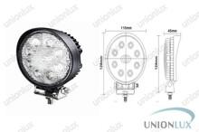 4x4 offroad automotive led work lights , 24w vehicle led work light UX-WL3EP-Y24WR
