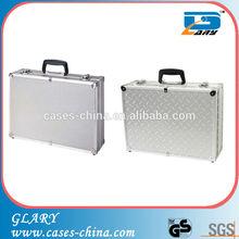 Portable aluminum metal truck tool box