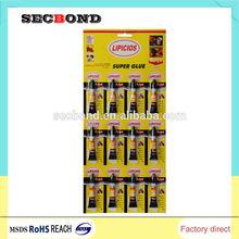 europe standard high speed super glue with REACH certificate super glue 3g