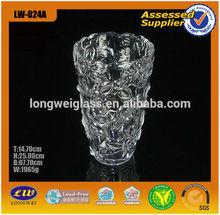 2015 glass vase glass roses in vase