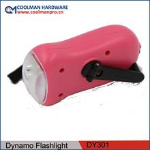 Dynamo and Solar 3 led Flashlighting