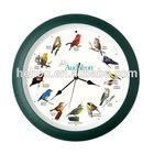 bird sound clock