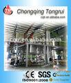تستخدم النفط الأسود تدوير تقطير النباتات/ مصفاة زيت المحركات آلة/ معدات التقطير