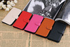 2014 New arrival hot sell design Litchi veins Flip Genuine leather mobile phone case for iphone5C,for iphone5c case