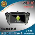 Oem android 4.2 a9 hyundai ix35 radio cd dvd con gps de doble núcleo, 1 ghzcpu, 1024*600 wifi 3g capacitiva de la pantalla, usb