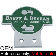 british racing custom car emblem badges