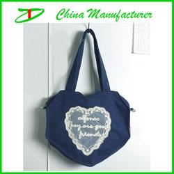 2014 china bag factory wholesale canvas sling cloth bag