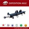 Trailer axle parts 3 parts axle beam for Irap market