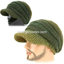 New style 100% acrylic men knitted cap,acrylic knitted cap