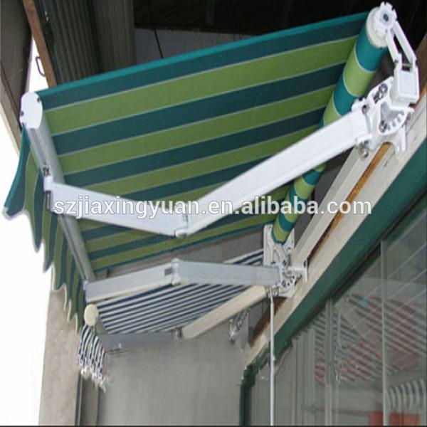 Motorized balcony folding arm sun shade from china buy for Balcony shades