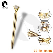 KKPEN golden charm pens with crystal