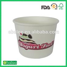 16oz gıda sınıfı dondurulmuş yoğurt kabı toptan