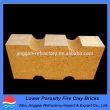 Lower Porosity Fire Clay Bricks Used in the blast furnace