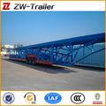 Hidráulico de alta calidad portador de coches/de automóviles de carga semi remolque de camiones para la venta