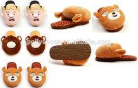 Various cute style cartoon cotton slipper