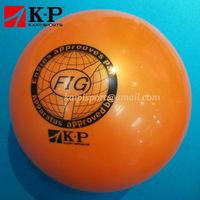 FIG 8inch Orange Rubber Gymnastics Ball