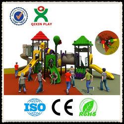 2014 Hot sale! play equipment outdoor/playground slide/playground equipment monkey bars/outside playground QX-028B