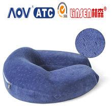 wholesale price Linsen durable small U pillow bamboo memory pillow