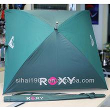 Square umbrella outdoor replacement canopy