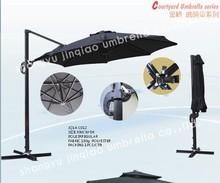 curve and handle patio umbrella