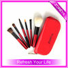 6pcs makeup goat hair travel portable mini cosmetic brushes set
