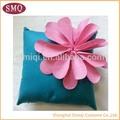Venta caliente de la nueva venta al por mayor del diseño floral funda de almohada cojín