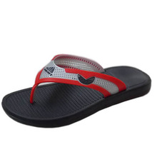 natural rubber simple stock high-grade atmophere flip-flop for men