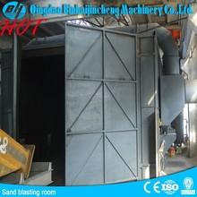 Free jet sand-blasting cabinet /used sand blasting machines