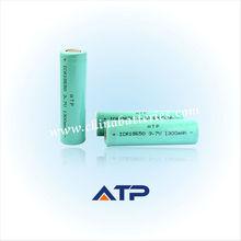 Wholesale power tools use li-ion 18650 battery / 3.7v 1300mah 18650 li-ion rechargeable battery