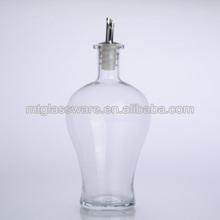 650ml clear glass vinegar & oil Bottle cruet set