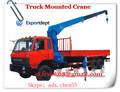 12-16ton howo camión de brazo de la grúa, modelo de fundición a presión de la grúa toneladas 15