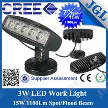 ประเทศจีน15w/18wนำworklightนำไฟทำงานนำแสงขับรถสำหรับมิตซูบิชิ12v