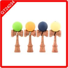 rubber paint kendama for wholesale
