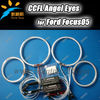 Super Bright angel eyes headlights Halo Rings Kit For Ford Focus with 4 ccfl angel eyes ring and 2 ccfl inverters