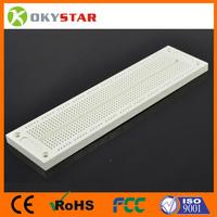 electronic breadboard SYB -120 Breadboard 700 Points Solderless PCB Bread Board 176*46mm white