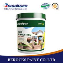 Berocks primer coat waterproof latex paint office wall paint colors