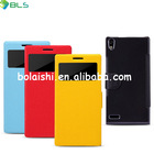 Chrismas mobile phone leather case for huawei ascend p6 case