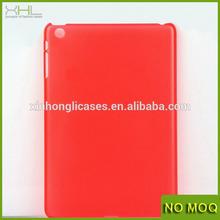For ipad mini 0.4mm ultra thin case cover, custom design matte pc case for ipad mini